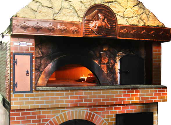 Forno a legna foto di pizzeria braceria fuoco vivo perugia